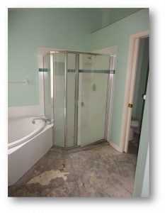 Tampa Interior Painting | Bathroom  Before