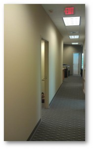 Tampa Commercial Interior Painting | Hallway After