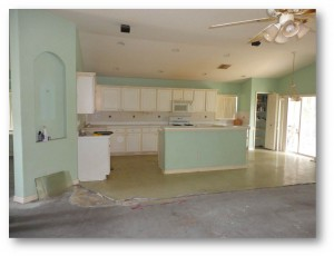Tampa Interior Painting | Kitchen Before