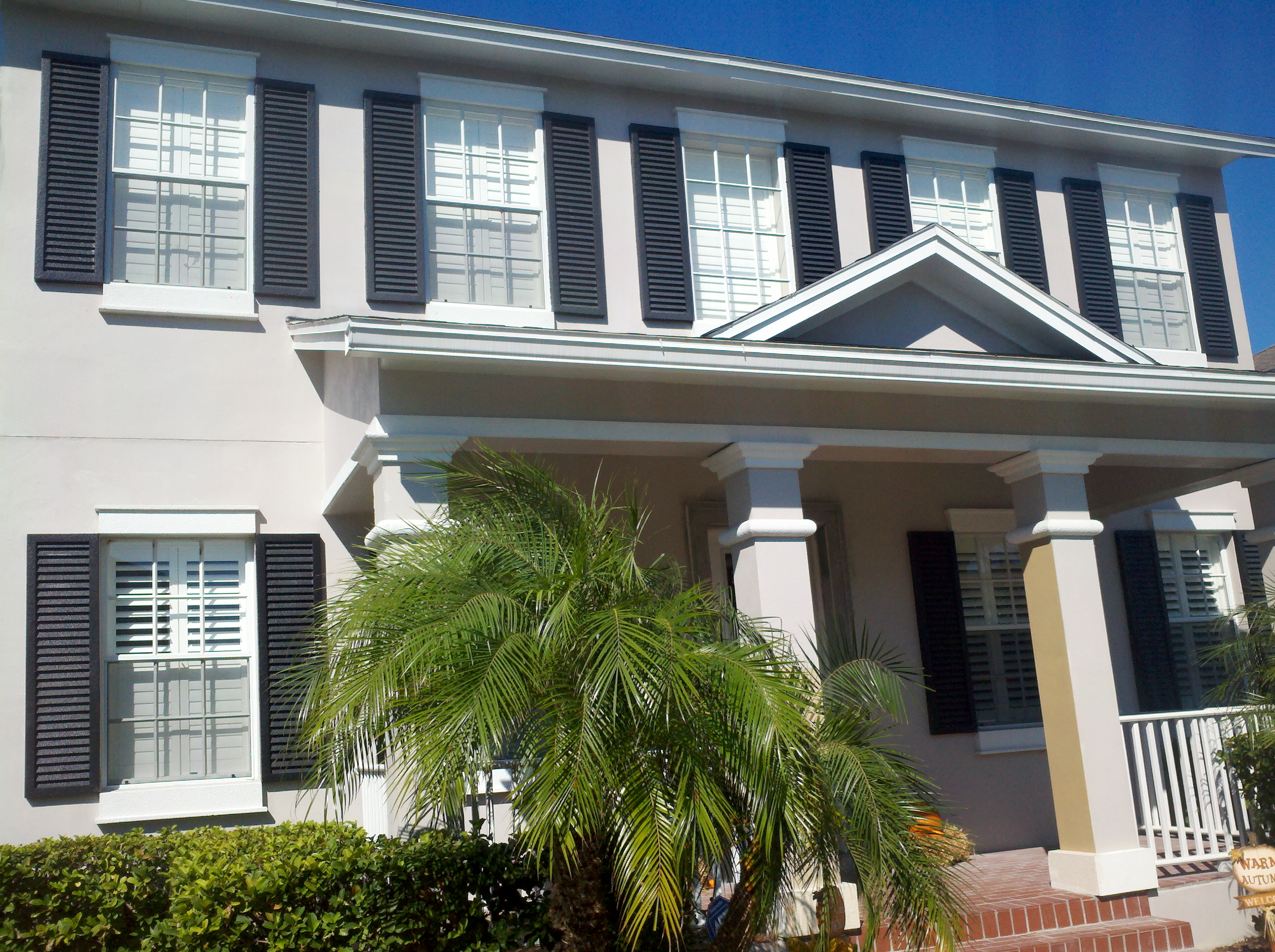 Tampa exterior house painting presto painting services - Exterior home services ...