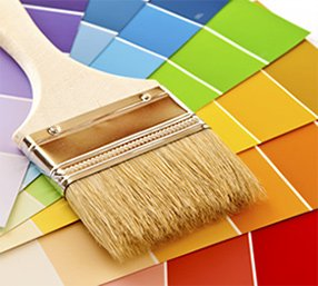 Presto Painting Tampa Paint Brush and Paint Color Fan